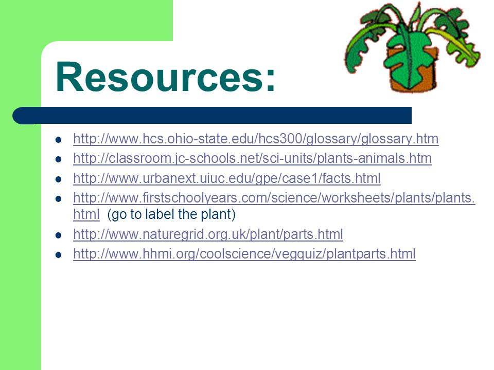 Resources: http://www.hcs.ohio-state.edu/hcs300/glossary/glossary.htm
