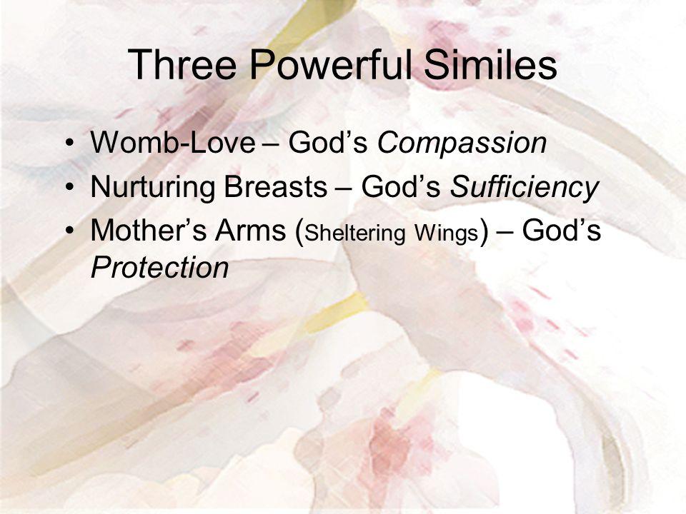 Three Powerful Similes