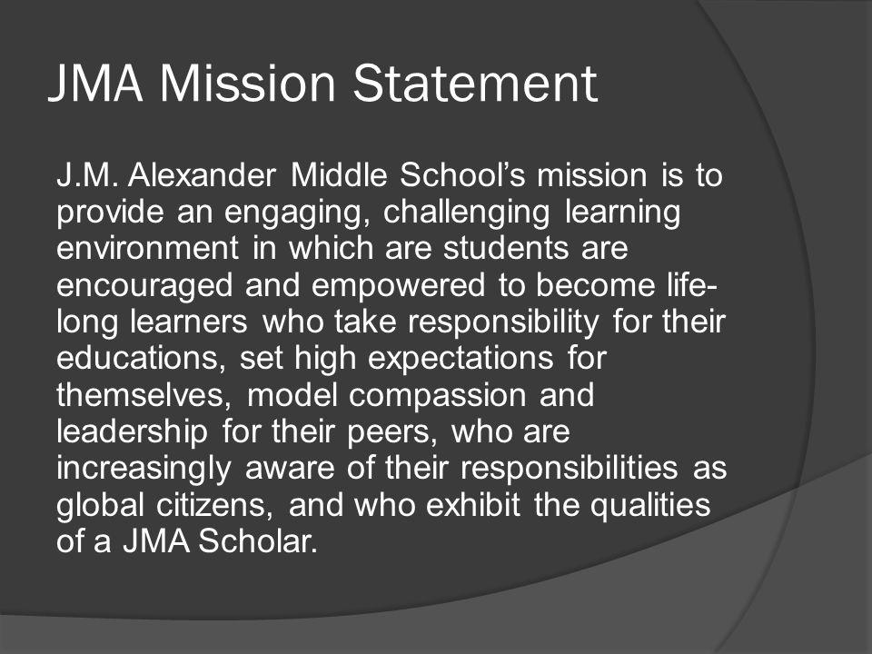 JMA Mission Statement