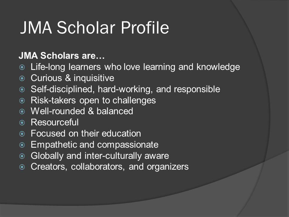 JMA Scholar Profile JMA Scholars are…