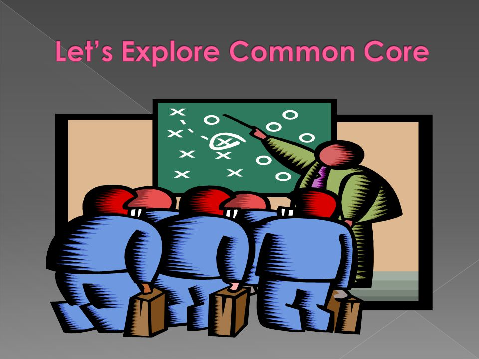 Let's Explore Common Core