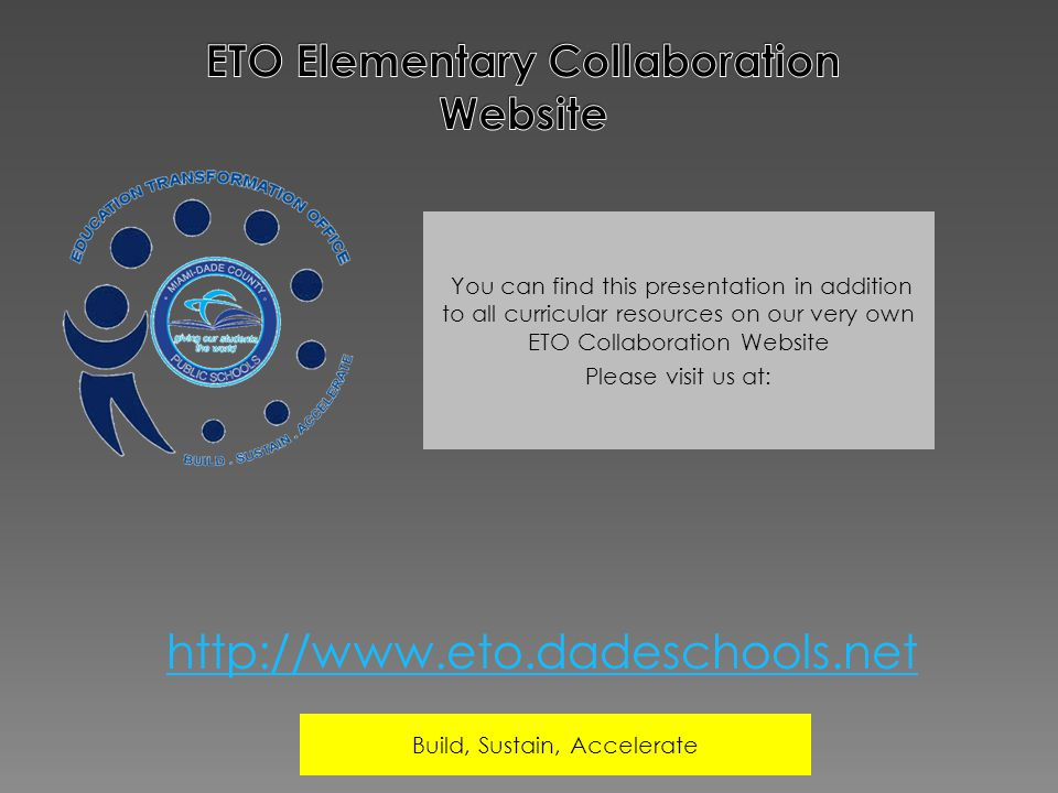 ETO Elementary Collaboration Website