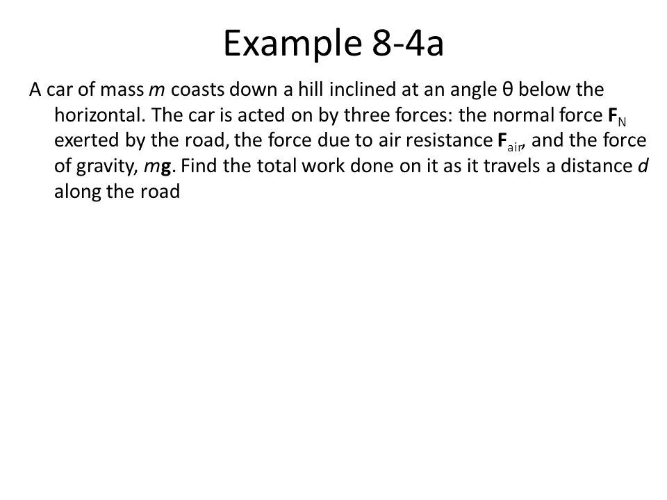 Example 8-4a