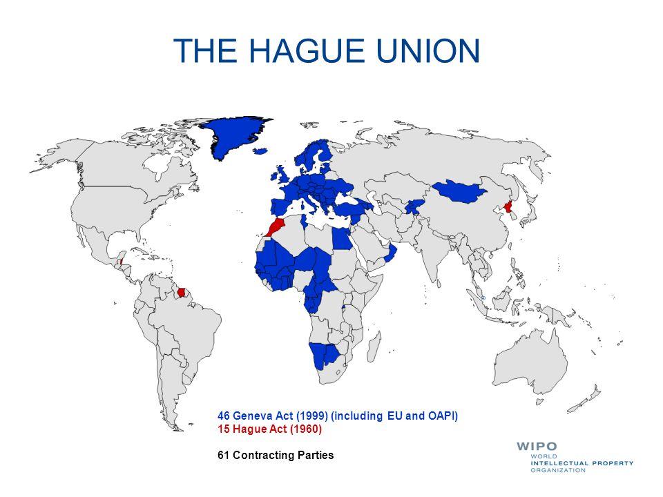 THE HAGUE UNION 46 Geneva Act (1999) (including EU and OAPI)