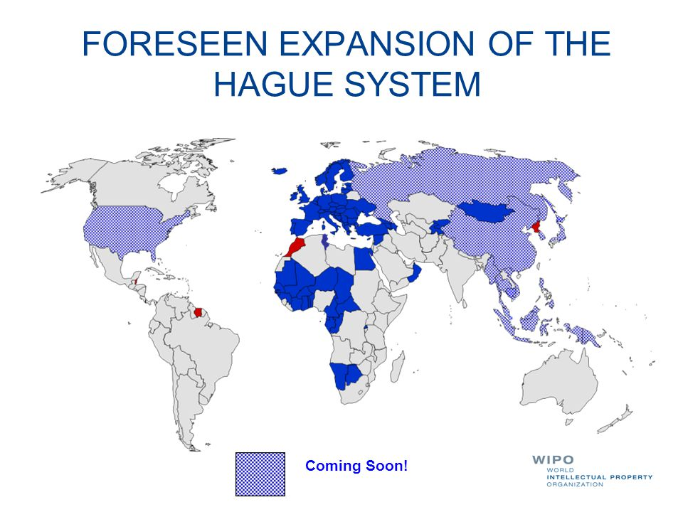 FORESEEN EXPANSION OF THE HAGUE SYSTEM