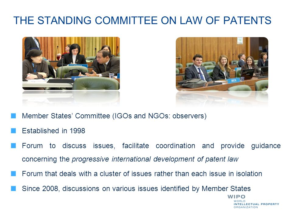 THE STANDING COMMITTEE ON LAW OF PATENTS