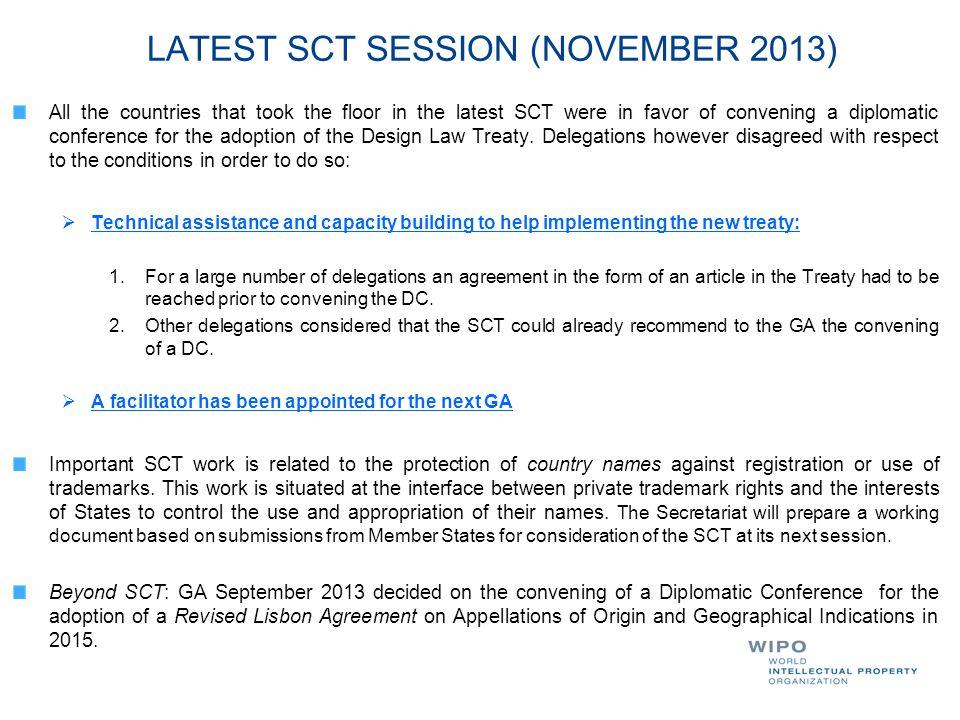LATEST SCT SESSION (NOVEMBER 2013)