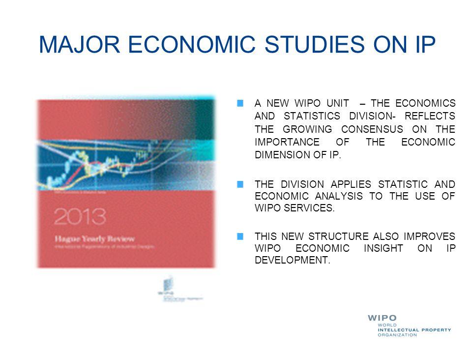 MAJOR ECONOMIC STUDIES ON IP