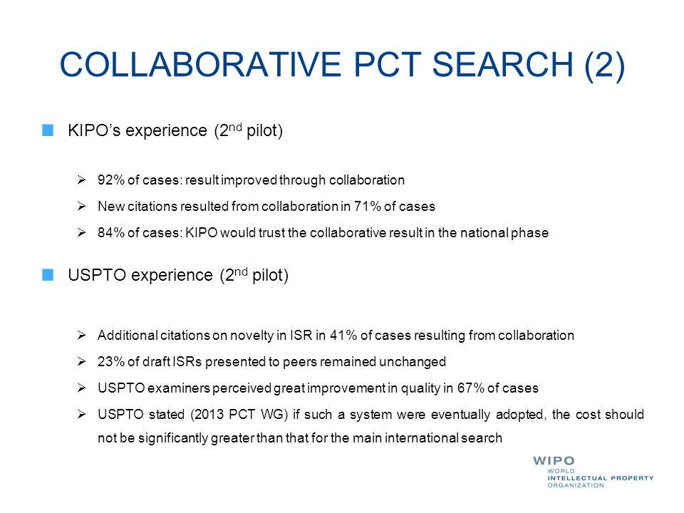 COLLABORATIVE PCT SEARCH (2)
