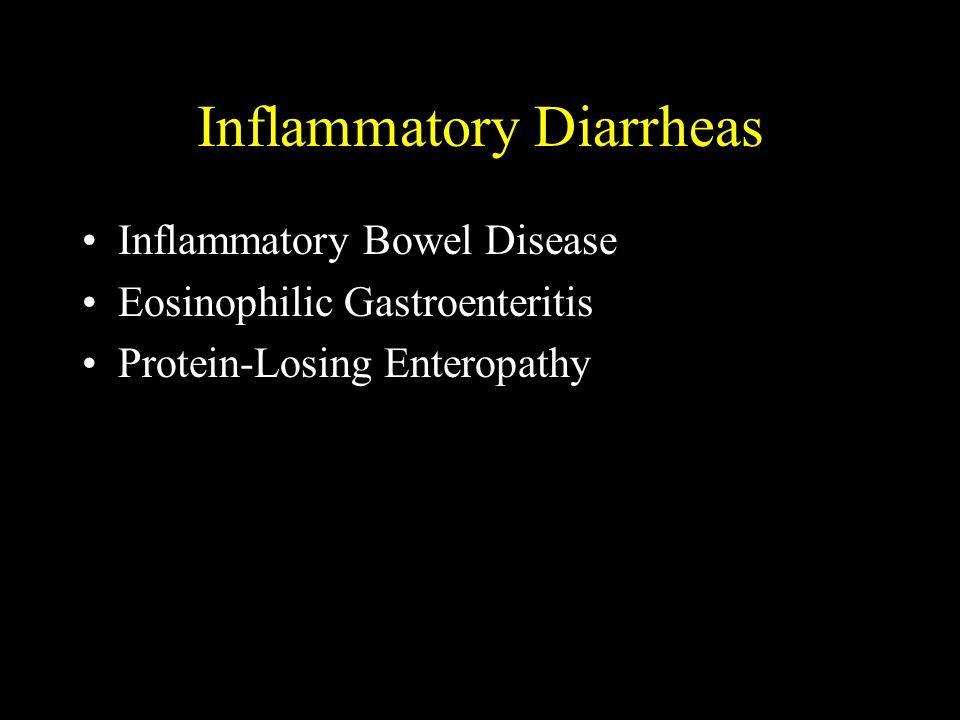Inflammatory Diarrheas