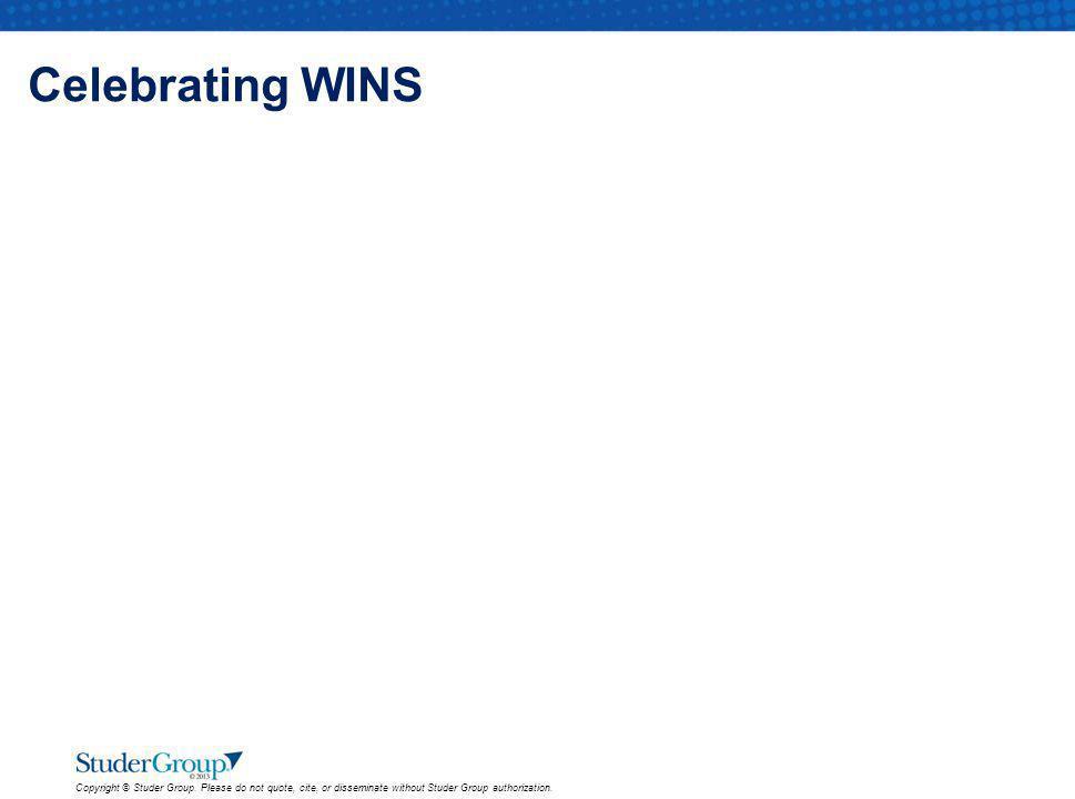 Celebrating WINS