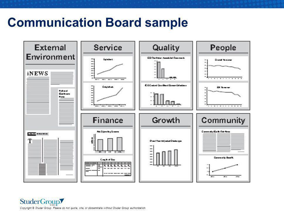Communication Board sample