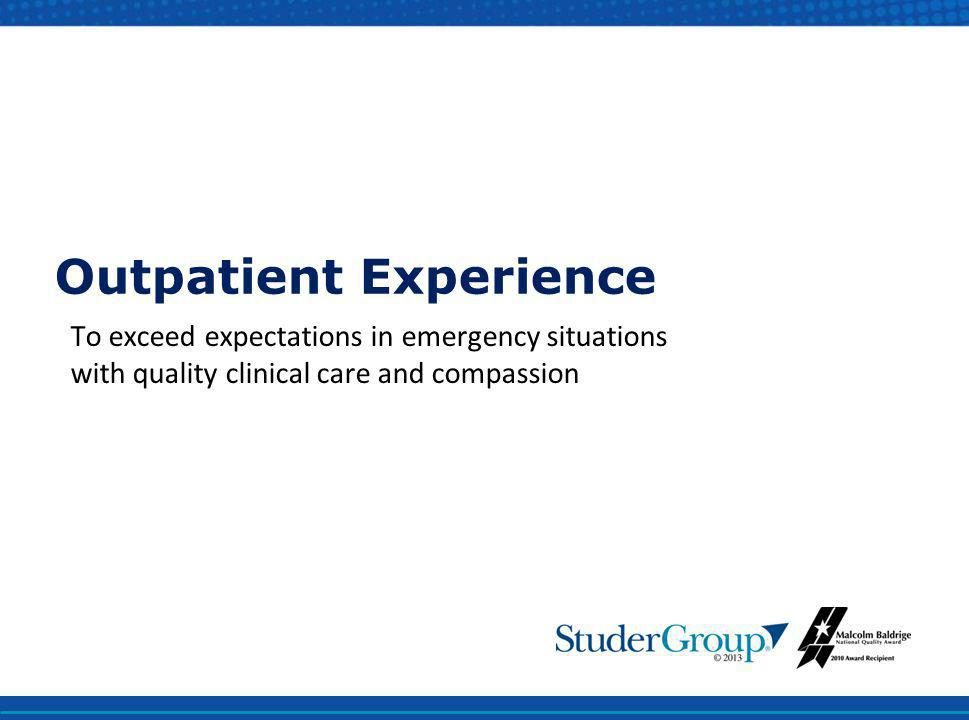 Outpatient Experience