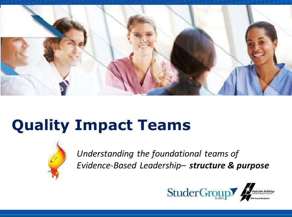 Quality Impact Teams