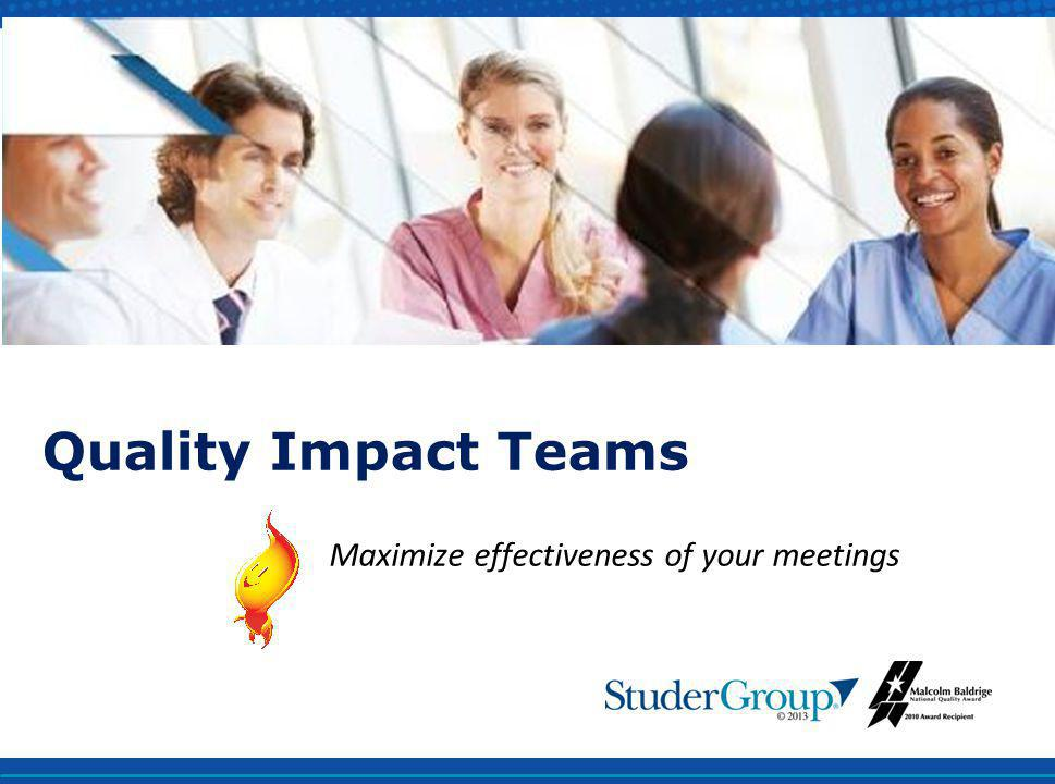 Maximize effectiveness of your meetings