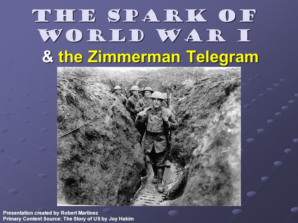 & the Zimmerman Telegram