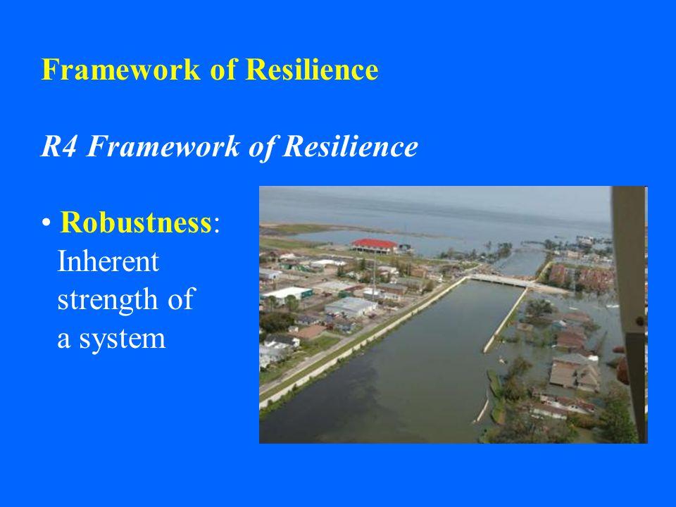 Framework of Resilience