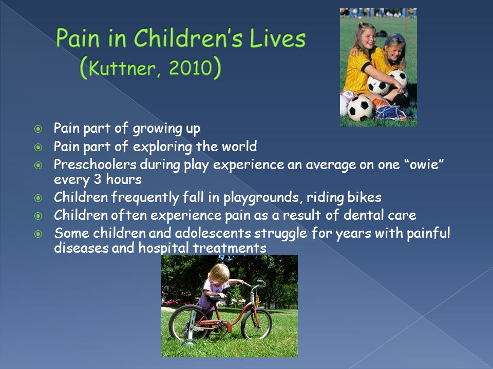 Pain in Children's Lives (Kuttner, 2010)