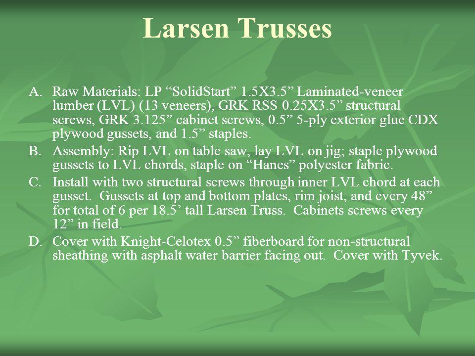 Larsen Trusses