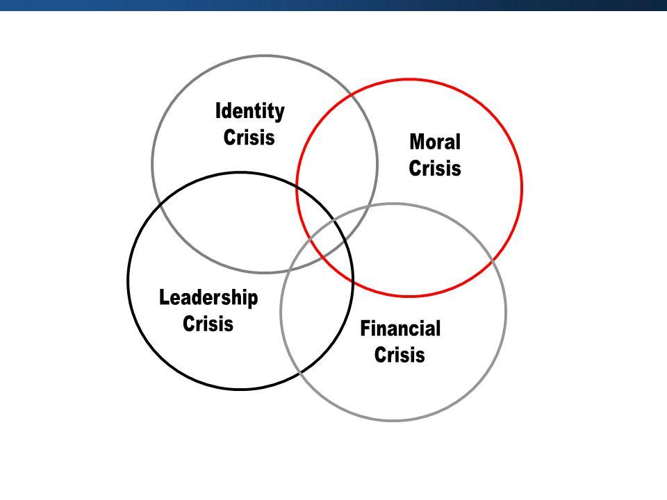 Identity Crisis Moral Leadership Financial