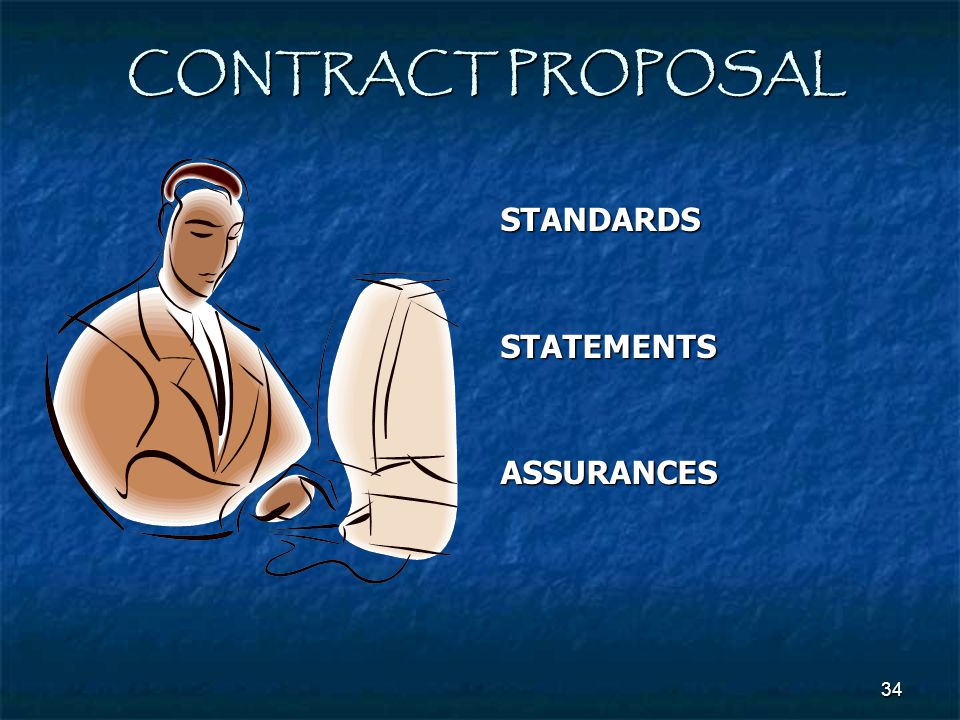 CONTRACT PROPOSAL STANDARDS STATEMENTS ASSURANCES