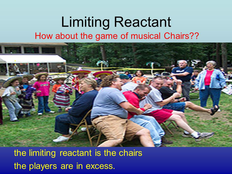 How about the game of musical Chairs