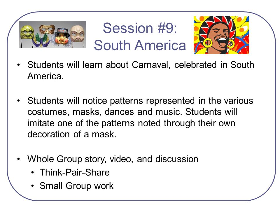 Session #9: South America