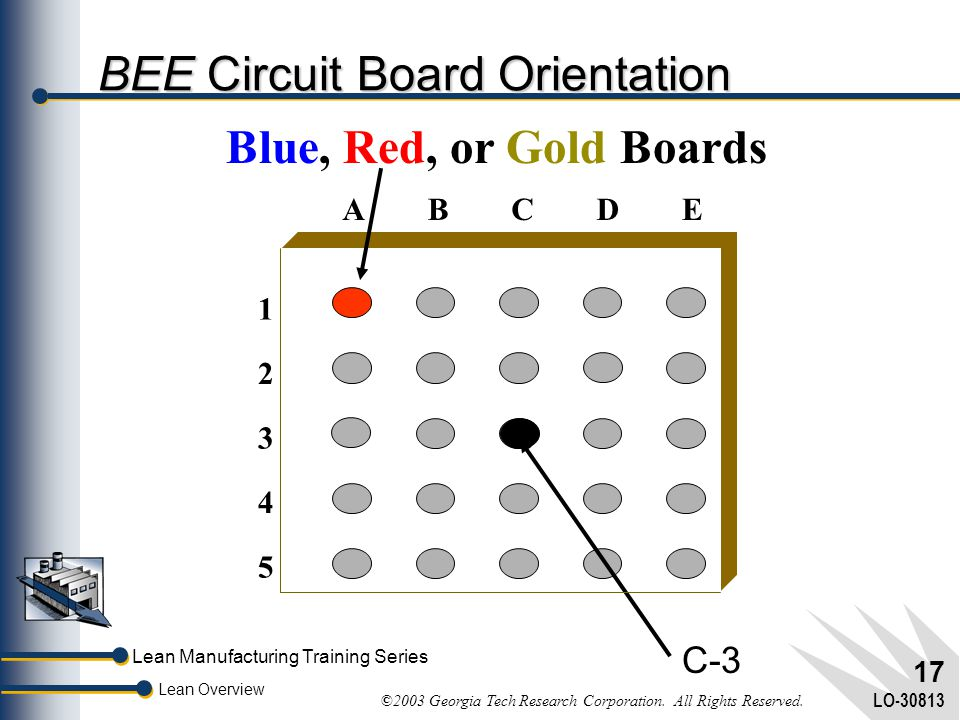 BEE Circuit Board Orientation