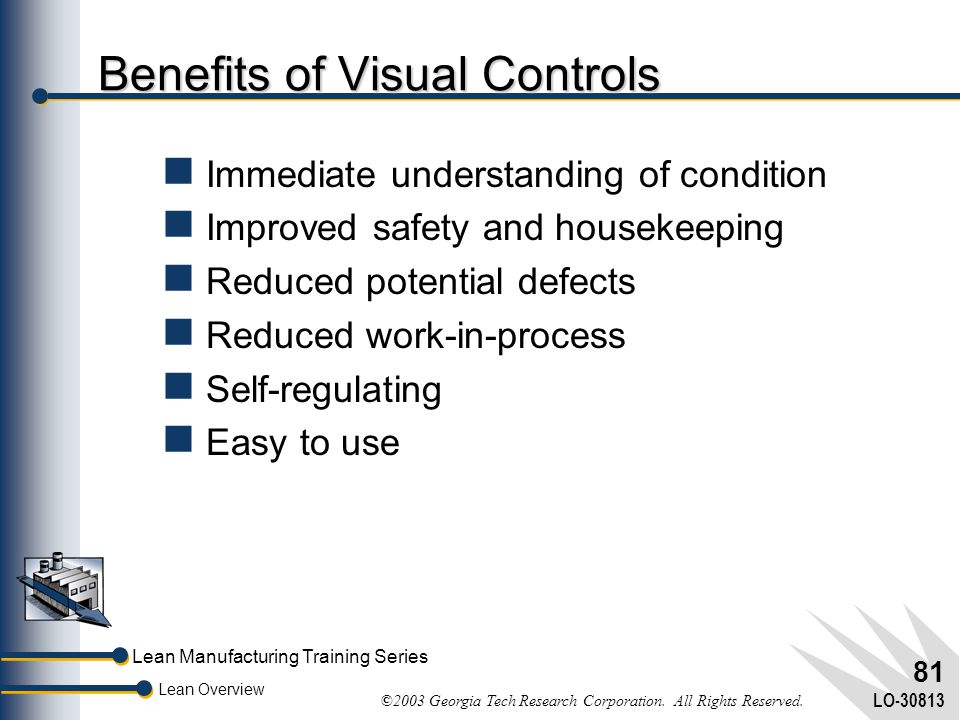 Benefits of Visual Controls