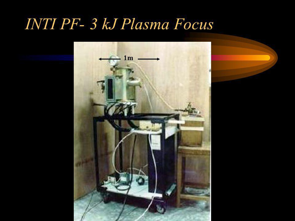 INTI PF- 3 kJ Plasma Focus
