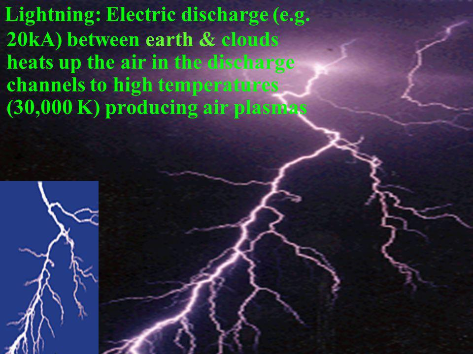 Lightning: Electric discharge (e. g