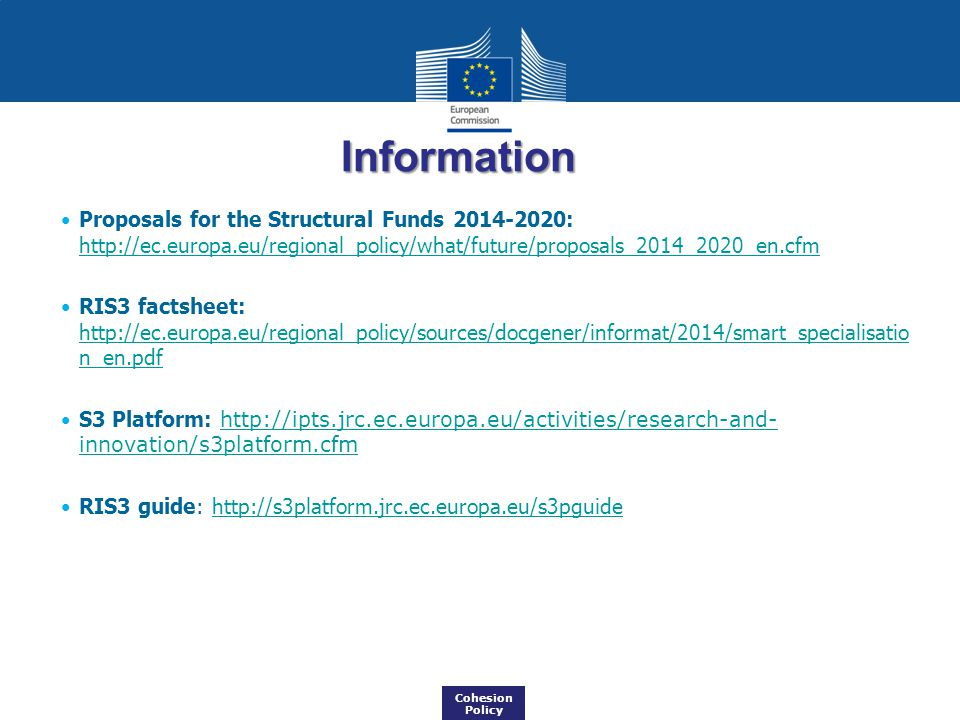 Information Proposals for the Structural Funds 2014-2020: http://ec.europa.eu/regional_policy/what/future/proposals_2014_2020_en.cfm.