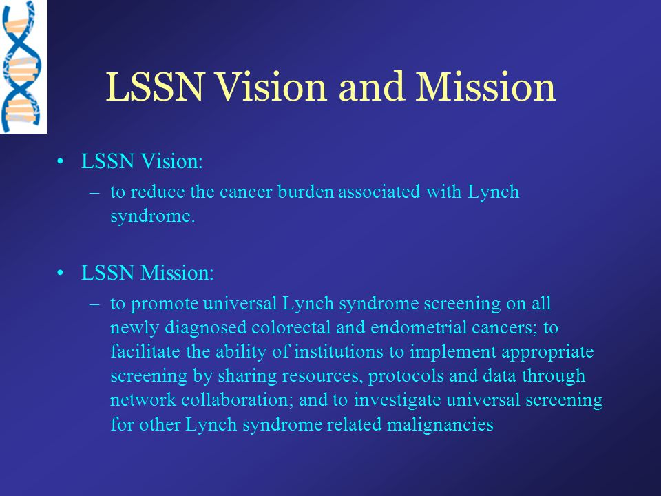 LSSN Vision and Mission