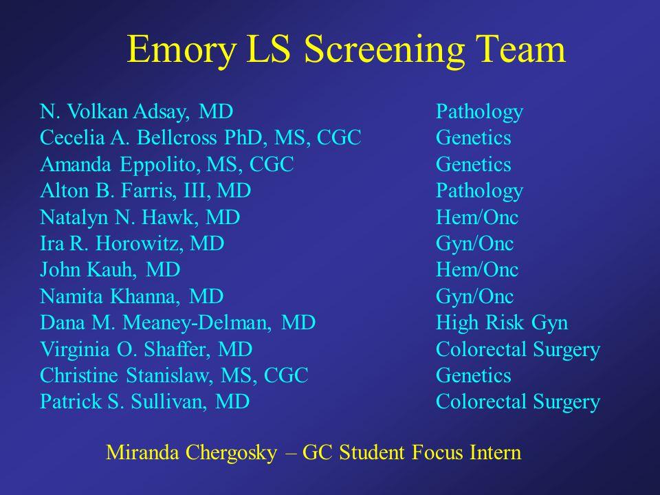 Emory LS Screening Team