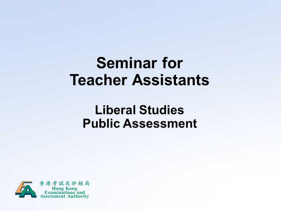 Seminar for Teacher Assistants