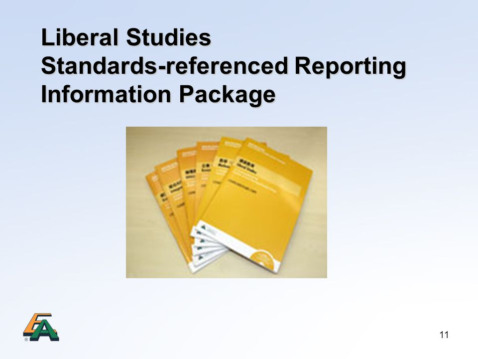 Liberal Studies Standards-referenced Reporting Information Package