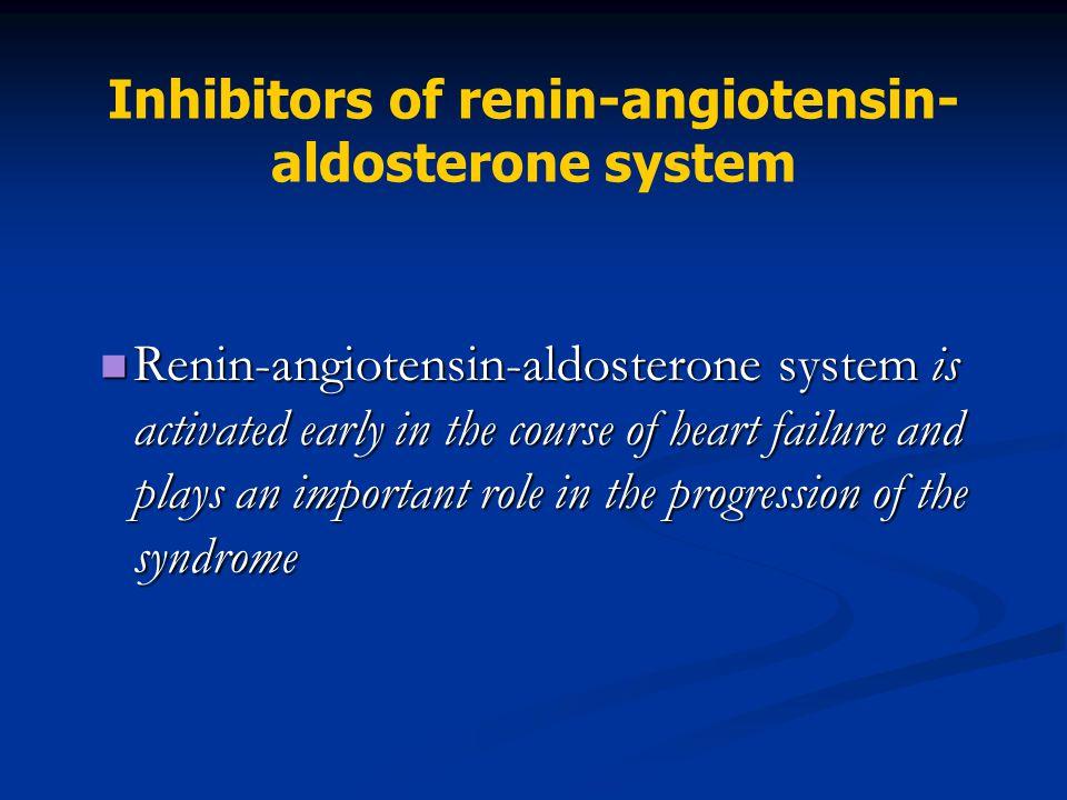 Inhibitors of renin-angiotensin- aldosterone system