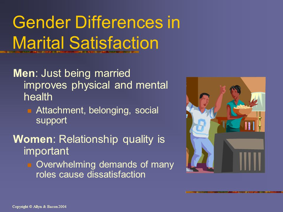 Gender Differences in Marital Satisfaction