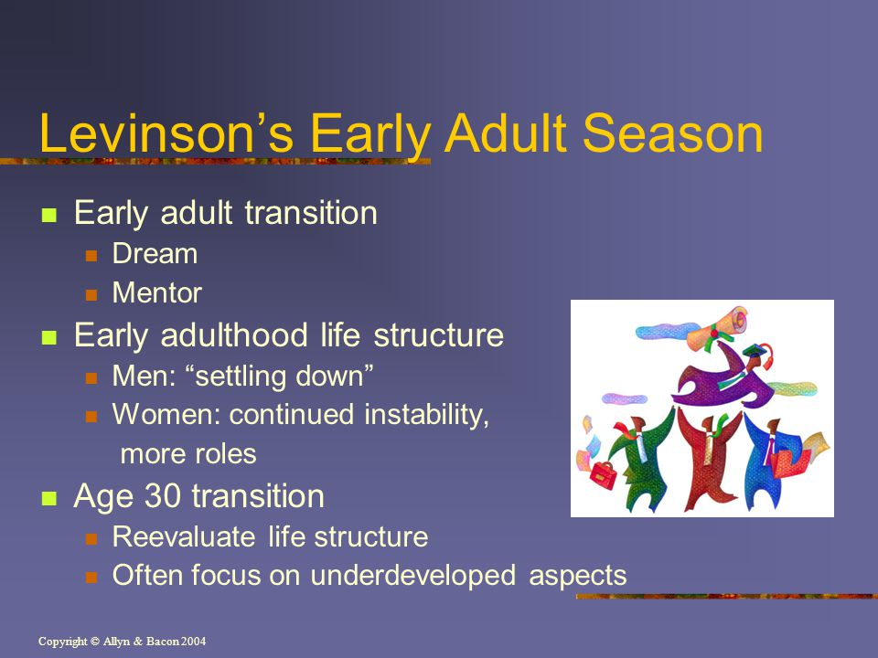 Levinson's Early Adult Season