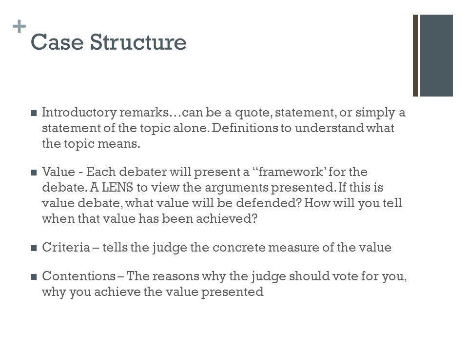 Case Structure
