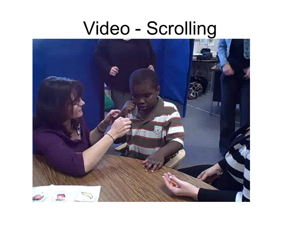 Video - Scrolling