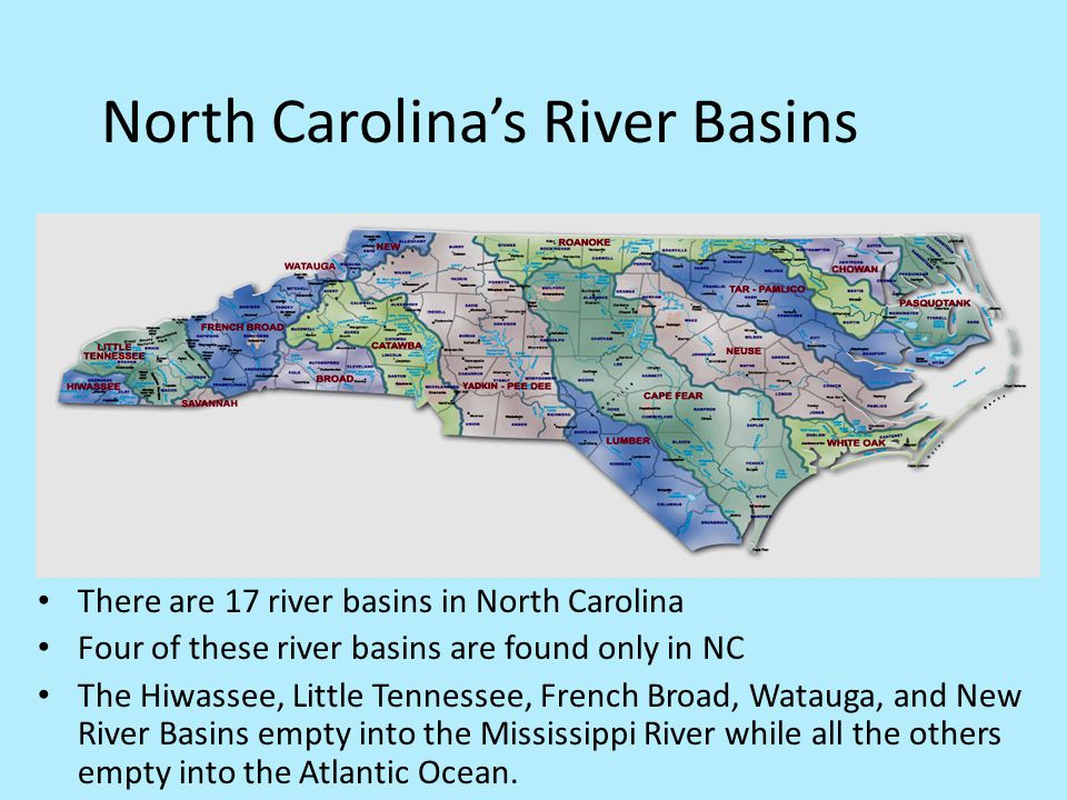 North Carolina's River Basins