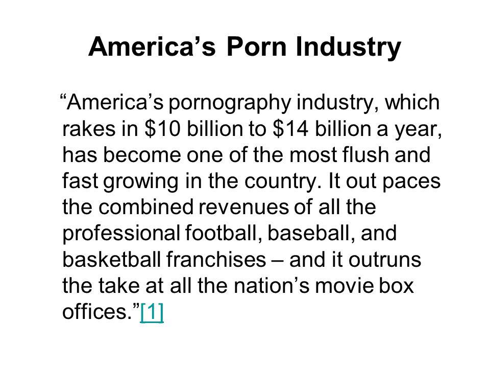 America's Porn Industry