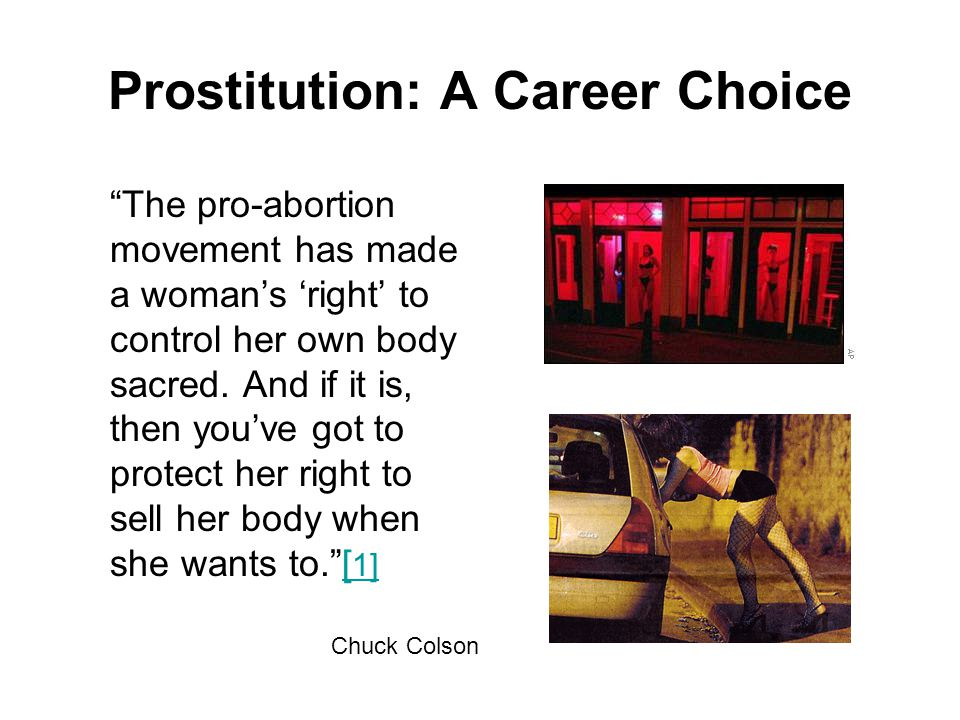 Prostitution: A Career Choice