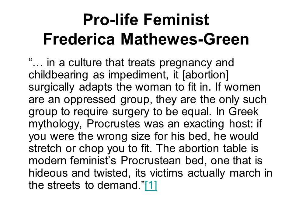Pro-life Feminist Frederica Mathewes-Green