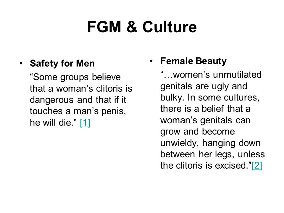FGM & Culture Female Beauty Safety for Men