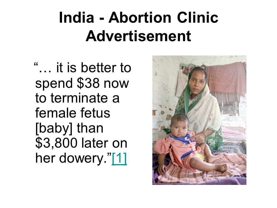 India - Abortion Clinic Advertisement