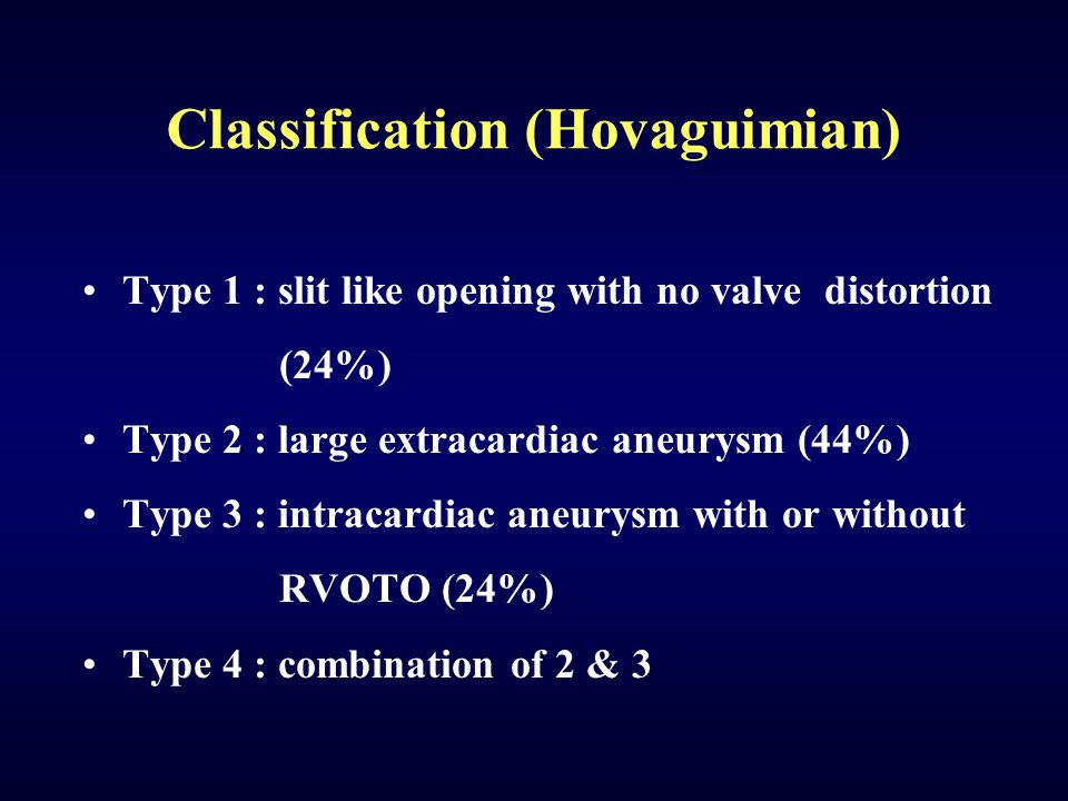 Classification (Hovaguimian)