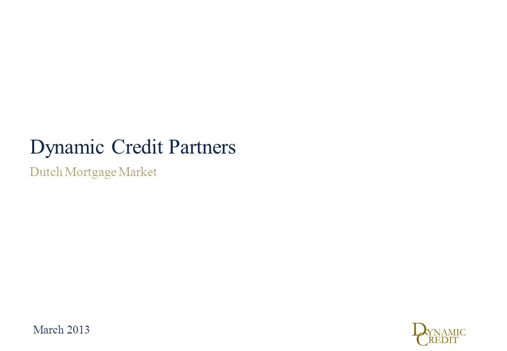 Dynamic Credit Partners