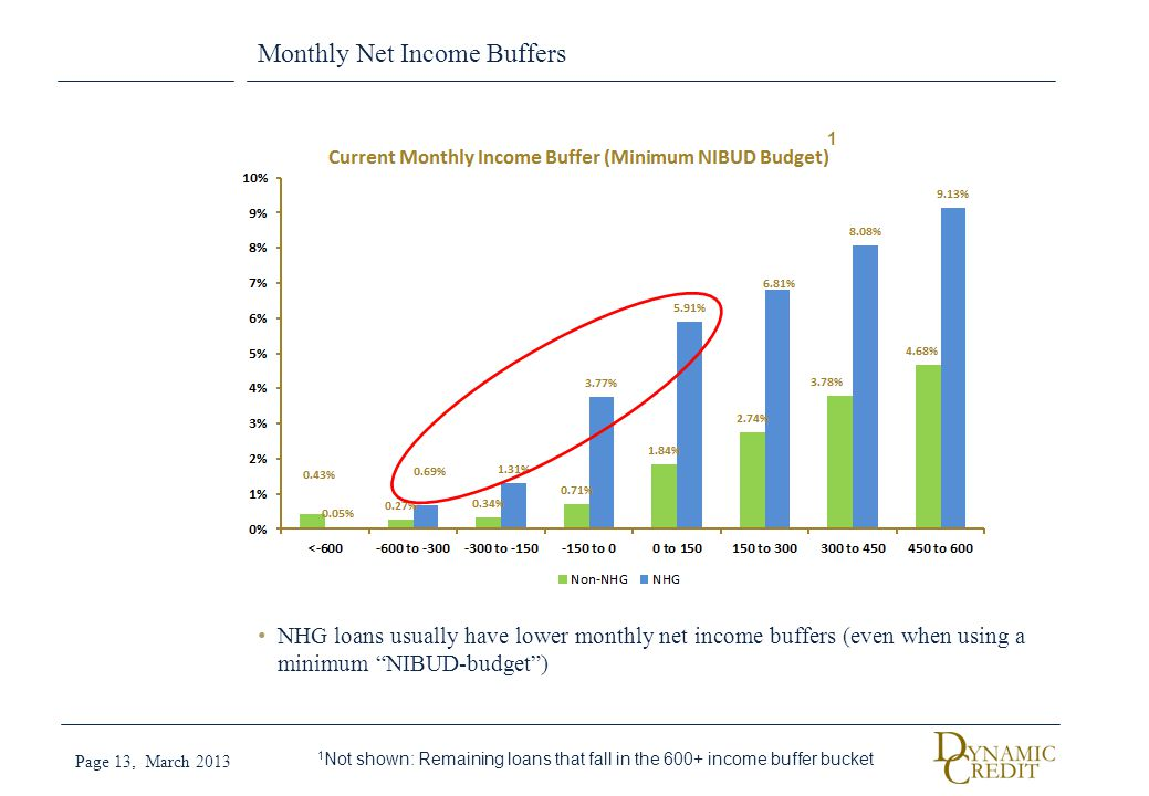 Monthly Net Income Buffers